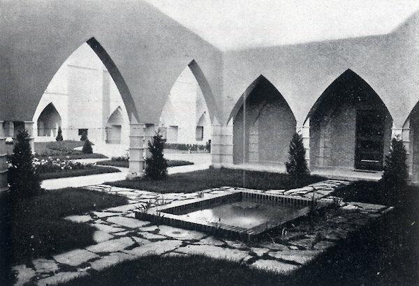 Zypressenhof, Helenium, publ. in Architektur und Bautechnik 5/1930, S.70